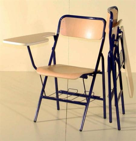 Sillas De Pala Zwd9 Silla Plegable Brazo Pala Izquierdas Mobiliario Escolar Sillas Brazo