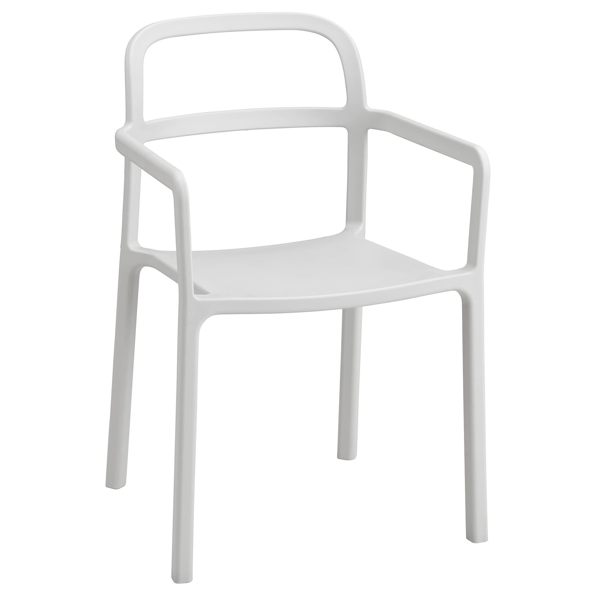 Sillas De Plastico Ikea 8ydm Gunde Silla Plegable Blanco Ikea