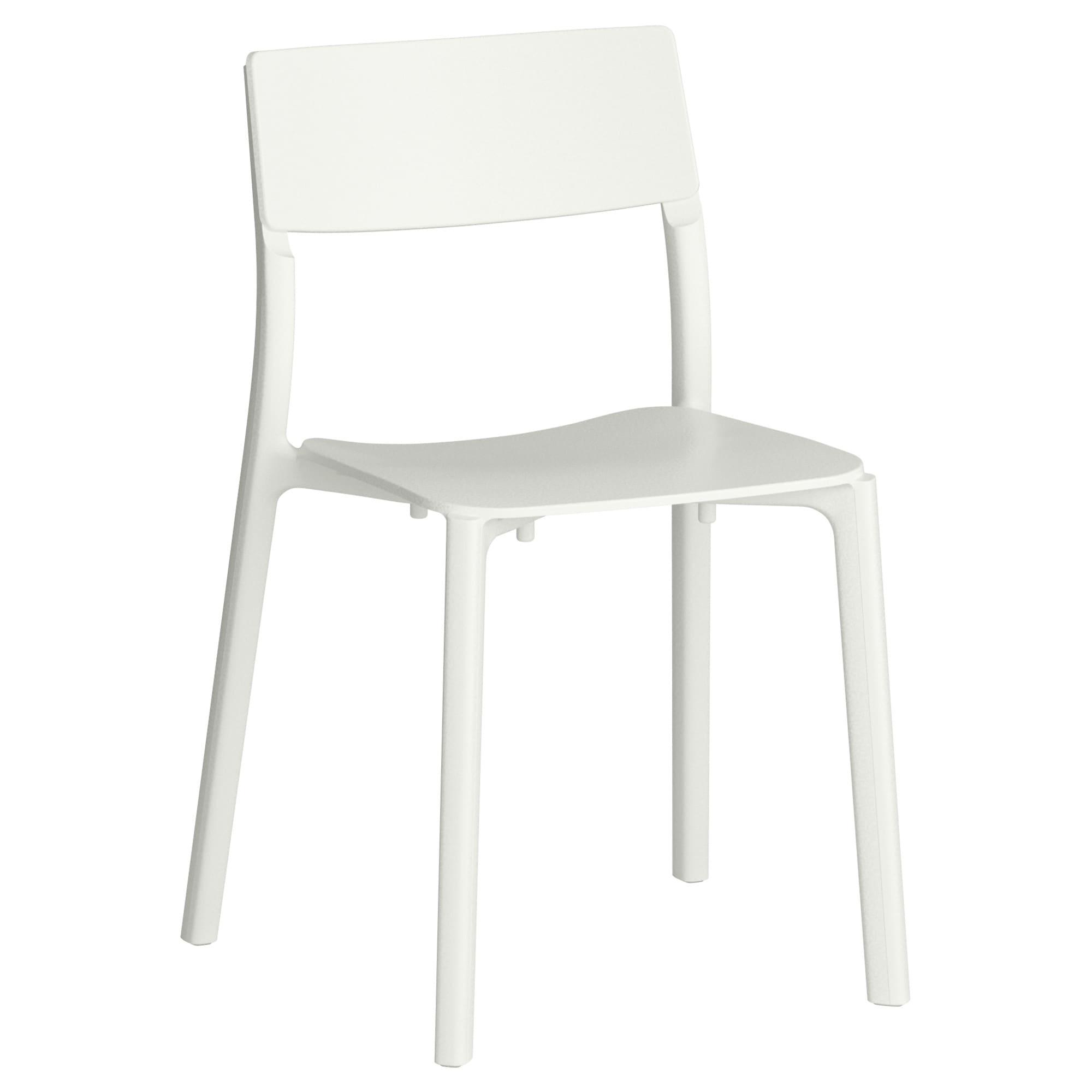 Sillas De Plastico Ikea H9d9 Janinge Silla Blanco Ikea