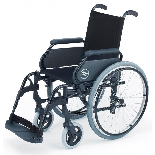 Sillas De Ruedas Plegables S1du Breezy 300 Silla De Ruedas Aluminio Plegable Autopropulsable ortoweb