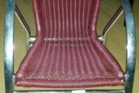Sillas De Segunda Mano 9fdy Silla Aluminio asiento Color Burdeos Segunda Mano