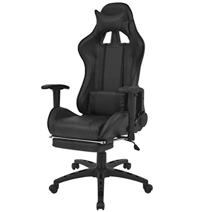 Sillas Gaming Black Friday H9d9 Festnight Silla De Escritorio Silla Gaming De Oficina Reclinable
