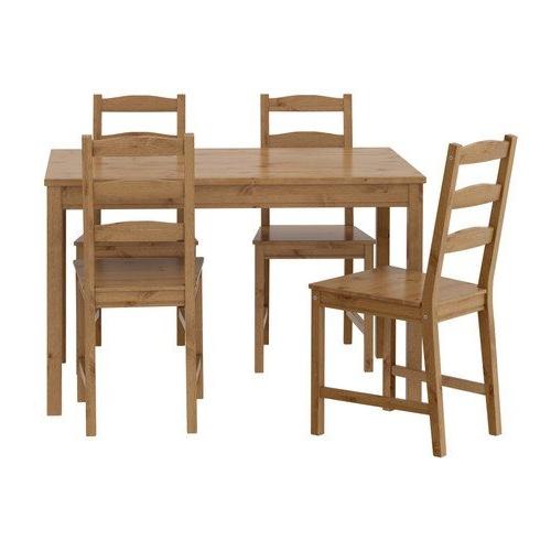 Sillas Ikea Comedor E6d5 Ikea Mesa Y 4 Sillas Madera De Pino SÃ Lida Cocina Edor C