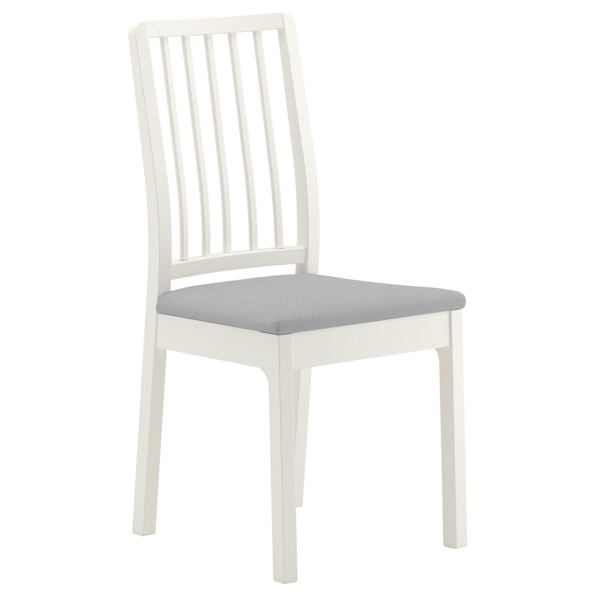 Sillas Ikea Kvdd Ekedalen Silla Blanco orrsta Gris Claro Ikea