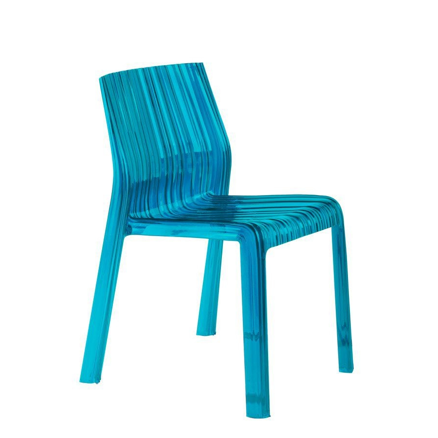 Sillas Kartell Thdr Silla Apilable Frilly Turquesa Muebles Y Sillas Kartell