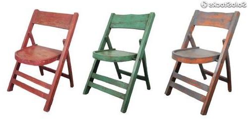 Sillas Madera Plegables Mndw Silla Sillas Plegables De Madera Industriales Estilo Vintage Hosteleria