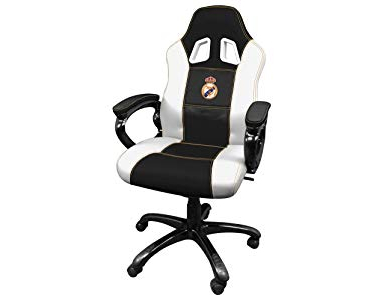Sillas Oficina Madrid E6d5 Real Madrid Silla Gaming Sillà N Gamer De Oficina Accesorio Ps4