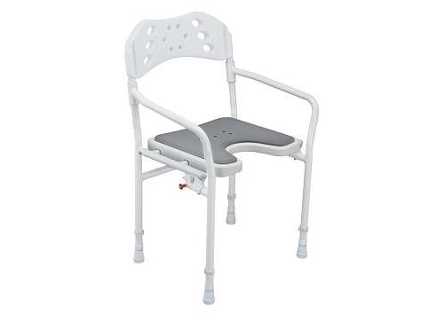 Sillas Para La Ducha Whdr Silla De Ducha Plegable tobago Seguro Y Estable asiento En U Facilita La Higiene à Ntima Ref Bs1017 Calidad Suprema