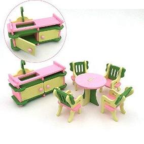 Sillas Para Muñecas X8d1 12 Muebles Para Casa De Muñecas Juego Edor Esc 1 En Mercado