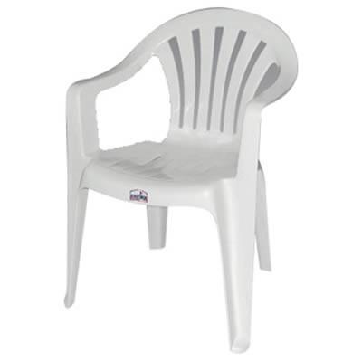 Sillas Plasticas Blancas H9d9 Sillas Plà Sticas Blancas Con Posa Brazo 488 00 En Mercado Libre