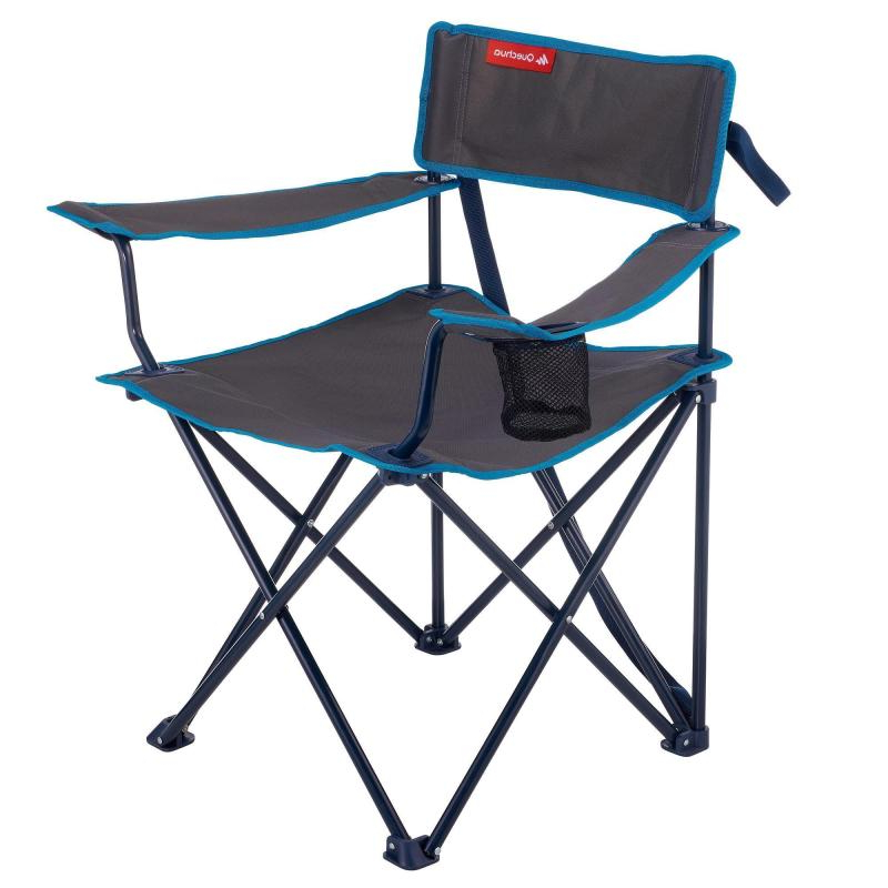 Sillas Plegables Decathlon 9fdy Silla De Camping Plegable Gris Decathlon