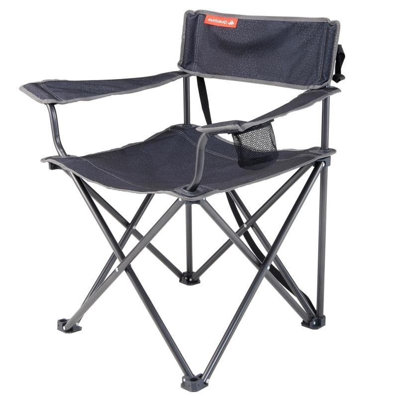 Sillas Plegables Decathlon 9fdy Silla De Camping Plegable Xl Gris Decathlon