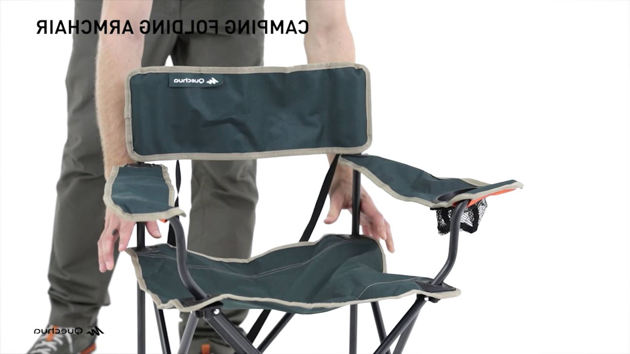 Sillas Plegables Decathlon Nkde Silla Plegable Arpenaz Quechua Youtube