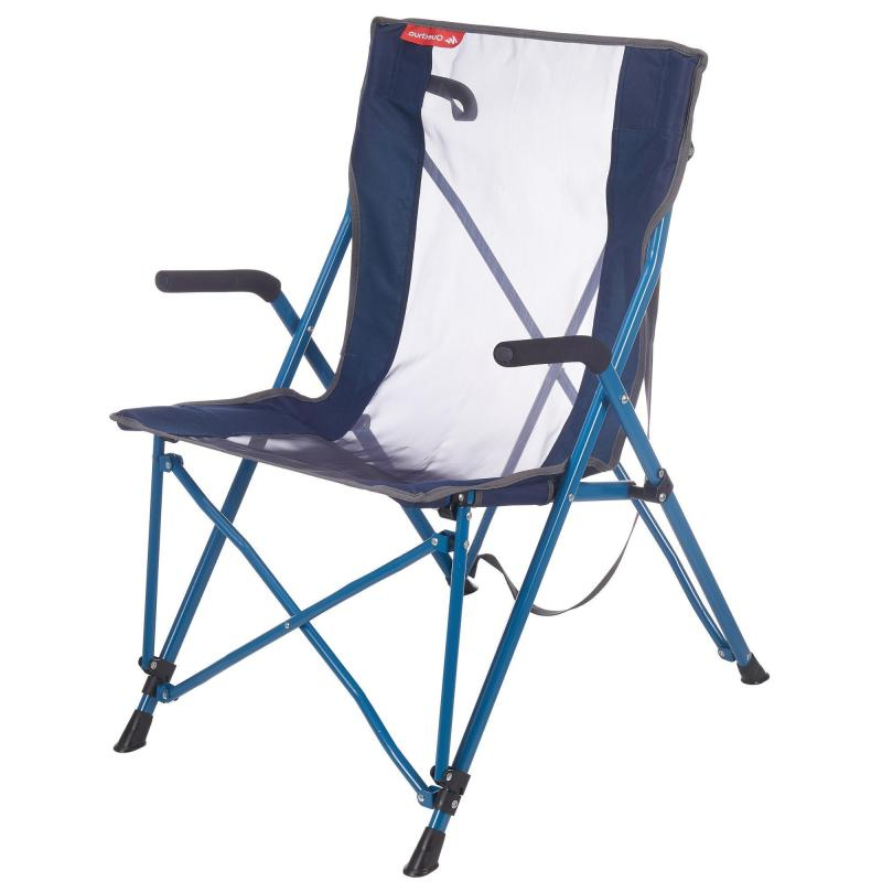 Sillas Plegables Decathlon O2d5 Silla Plegable De Camping Confort Azul Decathlon