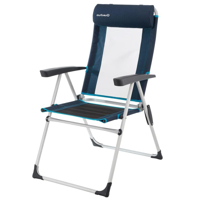 Sillas Plegables Decathlon Wddj Silla De Camping Plegable Inclinable Azul Decathlon