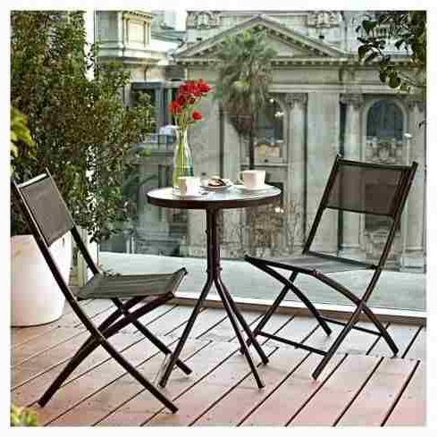 Sillas Plegables Jardin O2d5 Mesa Sillas Plegables Jardin Exterior Silla X 2 Balcon Ofert En