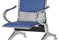 Sillas Sala Espera 87dx Tandem 1 Puesto Tapizado Azul Silla Sala Espera Metalica 1a