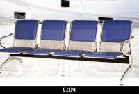 Sillas Sala Espera 9fdy Tandem 4 Puestos Silla Sala Espera Metalica Tapizada Azul 1a