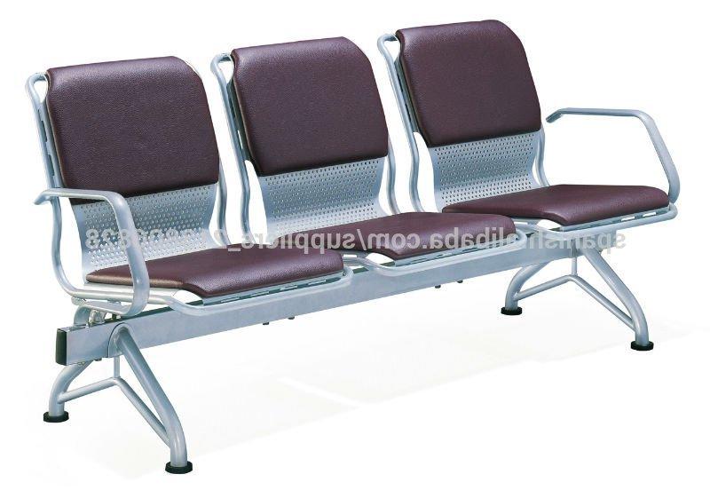 Sillas Sala Espera Budm Caliente Ct 609 3 asientos Sillas Sala De Espera Sillas De Metal