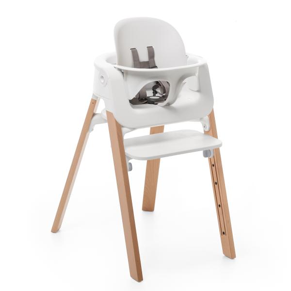 Sillas Stokke Q5df Pack Silla Stokke Steps Blanco Natural Baby Set