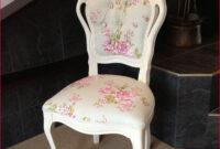 Sillas Tapizadas Vintage S1du Sillas Tapizadas Vintage Vintage Shabby Chic Chair My Home