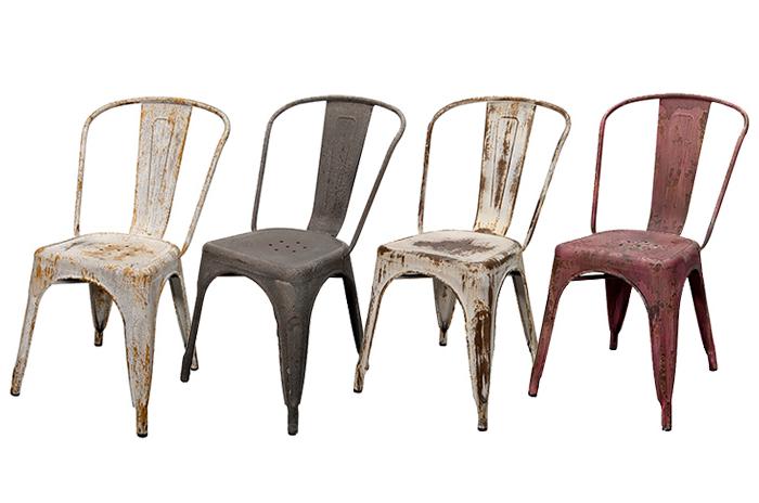 Sillas retro 2 silla comedor tapizada maribo with sillas for Silla industrial barata