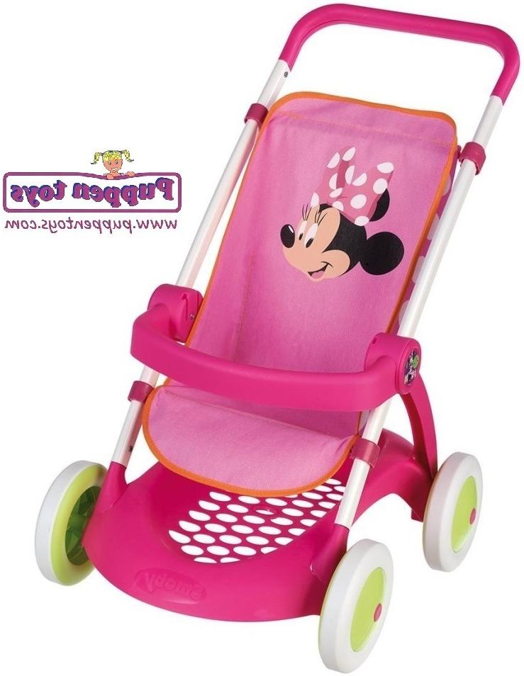 Sillita Bebe Juguete 3ldq Sillita Minnie Mouse Chuli Pop Smoby Juguetes Puppen toys