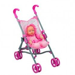Sillita Bebe Juguete 9ddf Sillita De Paseo Con Bebà Juguetes Poly