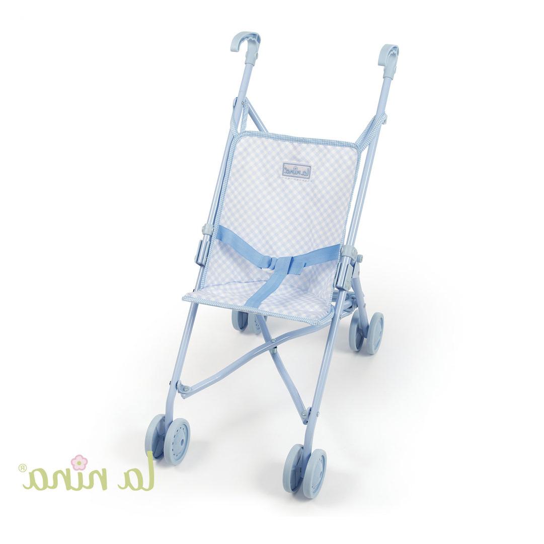Sillita Bebe Juguete Dddy Sillita De Paseo Grande Cuadritos Azul Muà Ecas Enfants Et Maison