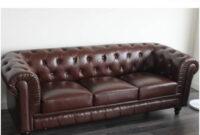 Sillon Chester Q5df sofa Chester 3 Plazas Piel Barato