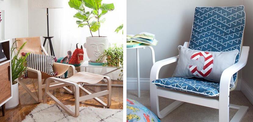 Sillon De Lactancia Ikea S1du La Silla Poang De Ikea En Diferentes Versiones