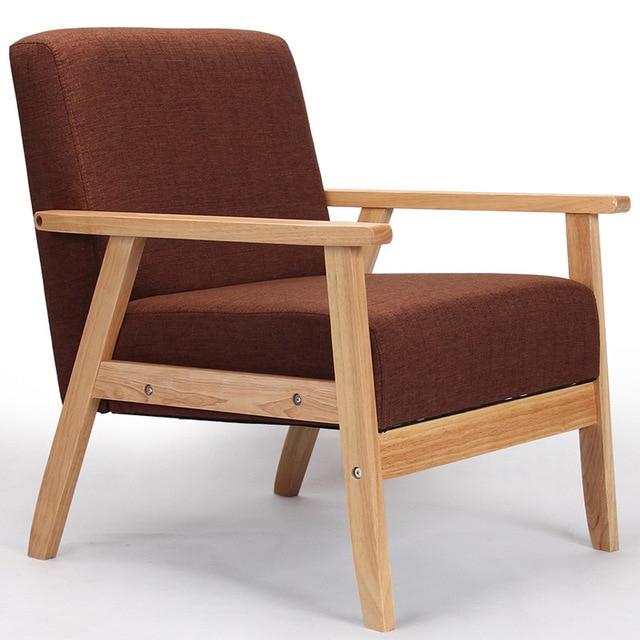 Sillon De Madera Irdz Aliexpress Prar Sillones De Madera De asiento Bajo sofà De