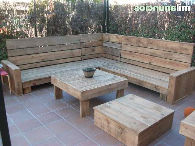 Sillon De Madera Irdz Mil Anuncios sofa Sillon Esquinero De Madera Reciclad