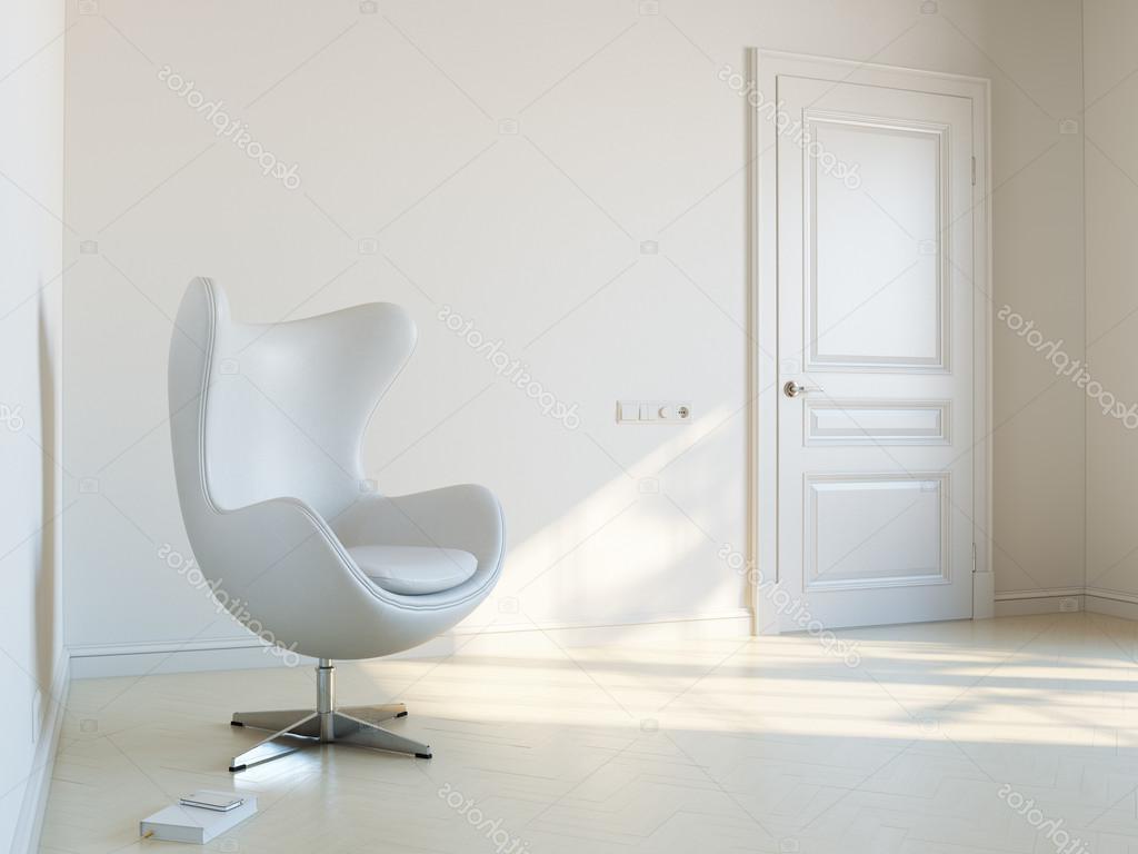 Sillon Habitacion T8dj Habitacià N Interior Blanco Minimalista Con Sillà N De Lujo Foto De