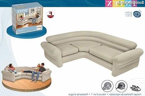 Sillon Hinchable Carrefour Budm sofa Hinchable Rinconero 257x203x76 Cm Ref Intex
