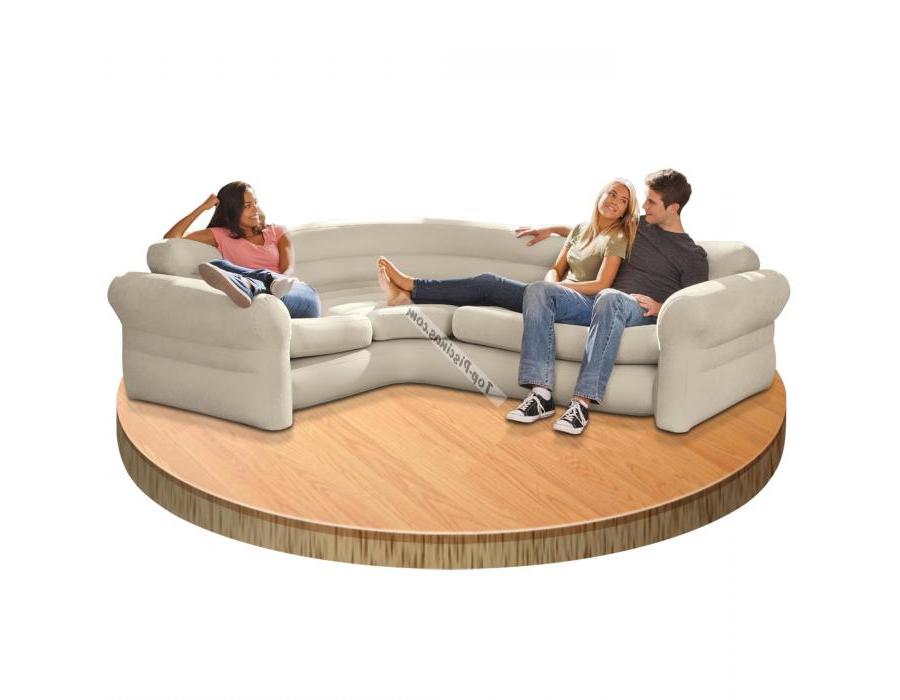 Sillon Hinchable Carrefour Dwdk sofa Hinchable Rinconera 257x203x76 Cm Intex Ref