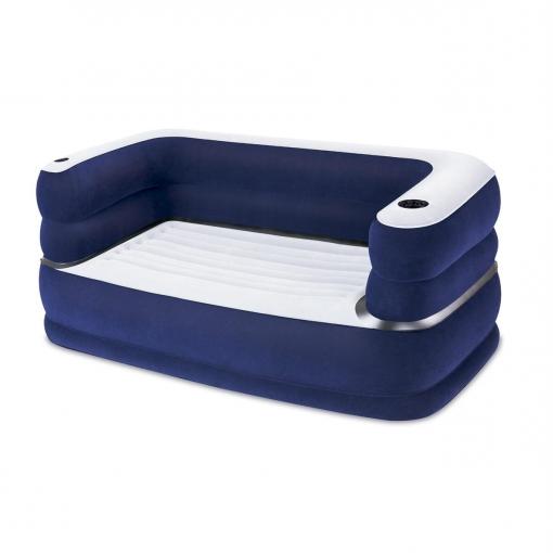 Sillon Hinchable Carrefour Txdf sofa Hinchable Deluxe Flocado 165x89x64 Cm Las Mejores Ofertas De