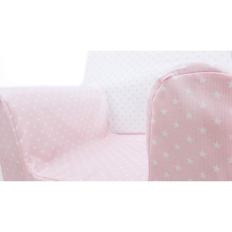 Sillon Infantil Espuma Irdz Sillon O asiento Infantil De Espuma Para Bebes Y Ninos Estrellas Rosa