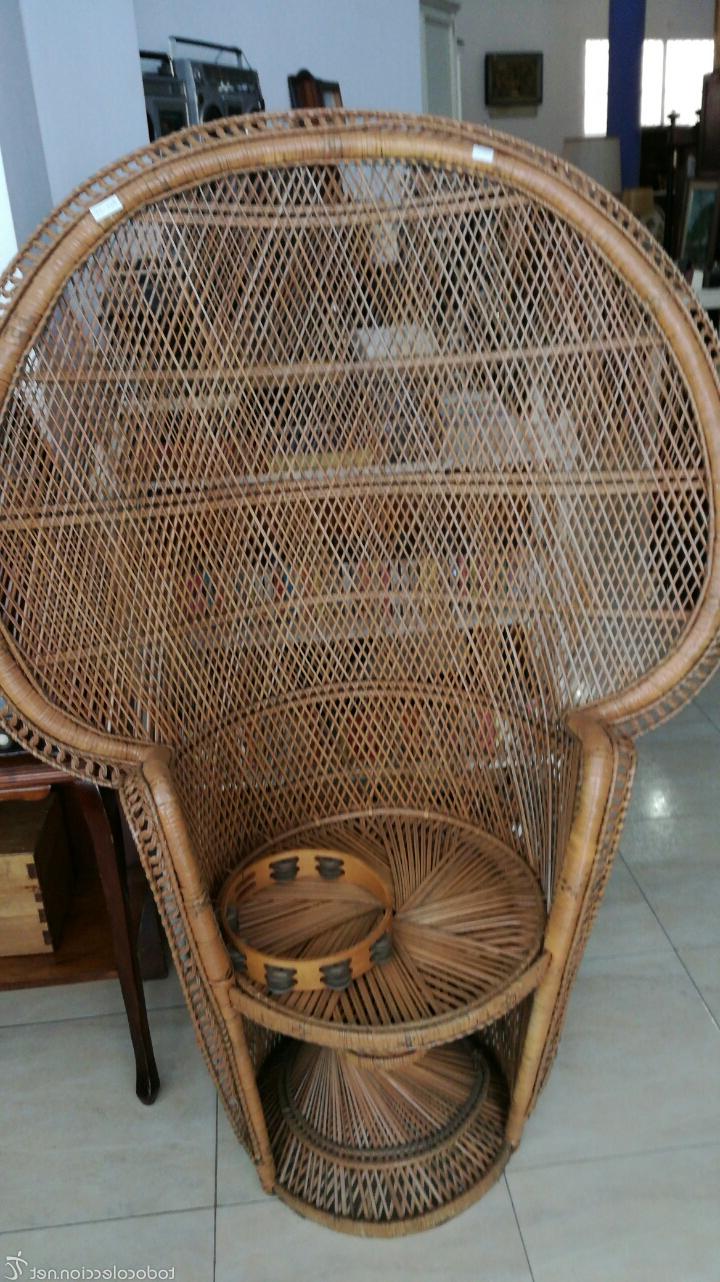 Sillon Mimbre Kvdd Sillà N Mimbre Prar Muebles Vintage En todocoleccion