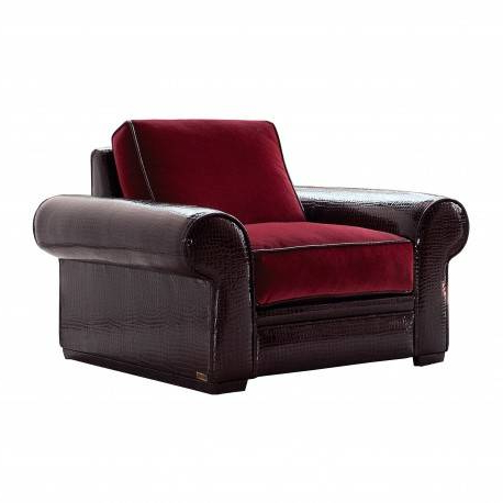 Sillon Moderno Jxdu Sillà N Moderno Exclusivo Tapizado Rojo Muambi