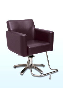 Sillon Niña 9fdy Emerald Styling Chair Nice and Large for Bigger Clients In Hair