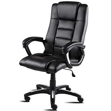 Sillon Oficina E6d5 Mc Haus Sillà N De Oficina Poliuretano Negro 49x63x125 Cm