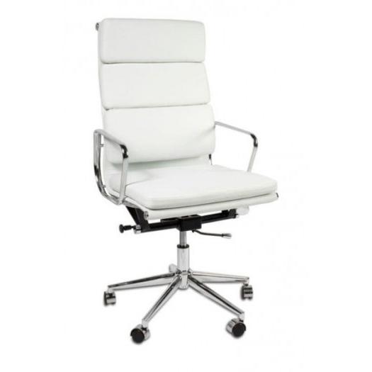 Sillon Oficina Tldn Sillon Oficina Aluminio T Pu Blanco Dto 30