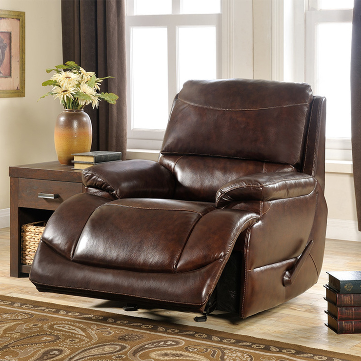 Sillon Piel O2d5 Trayton Furniture Sillà N Reclinable Piel Costco Mexico