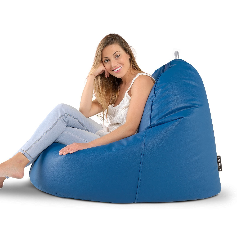 Sillon Puff S1du Puff Lounge Naylim Impermeable Granate En Puffdepera