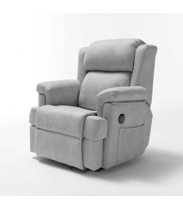 Sillon Relax Electrico Budm Sillones Relax Elà Ctricos Blanco