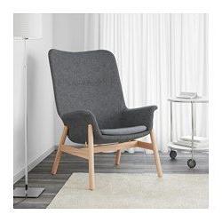 Sillon Relax Ikea S5d8 Vedbo Sillà N Con Respaldo Alto Gunnared Gris Oscuro somme