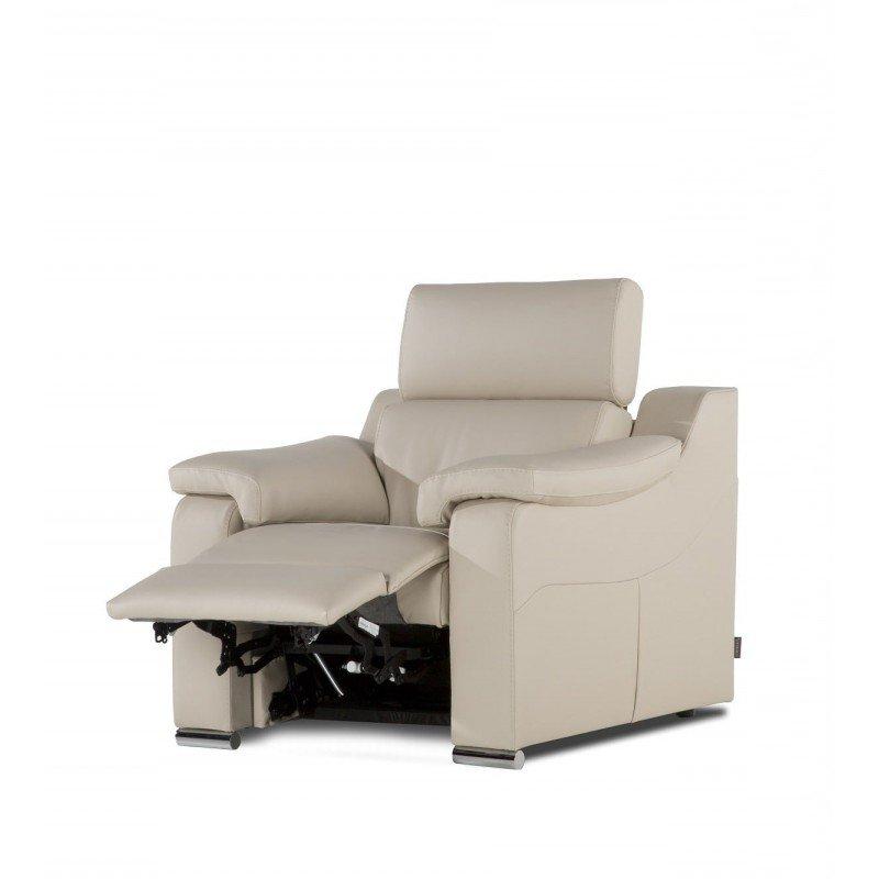 Sillon Relax Piel E9dx Sillon Relax Motor Moderno Tapizado Piel 1232 18 Mobles SedavÃ
