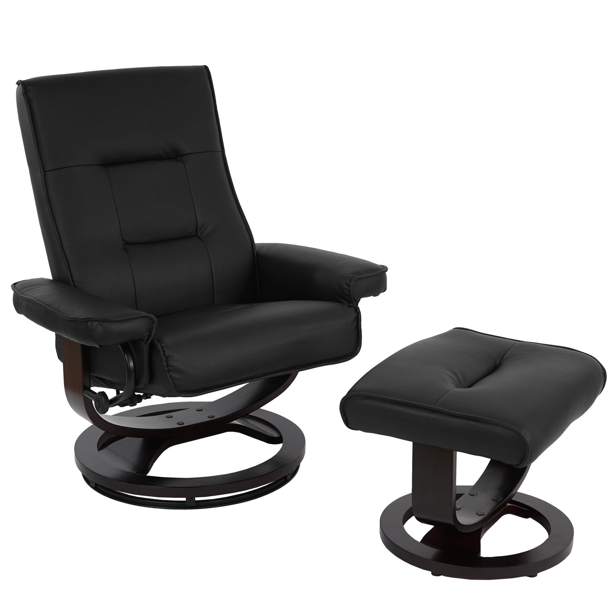 Sillon Relax Piel X8d1 Sillà N Relax Reclinable Valentino En Piel 100 Real Color Negro