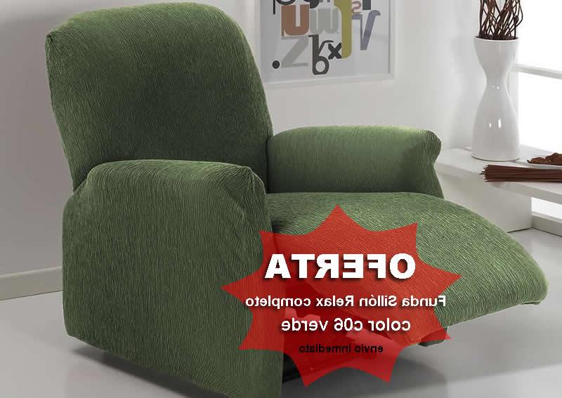 Sillon Relax Precio Tldn Funda Sillà N Relax Pleto Verde Teide En Oferta Al Mejor Precio